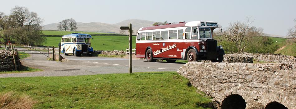 Coach bus for wedding